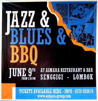 Jazz + Blues + BBQ